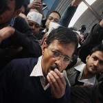 Man punches Indian anti-graft party chief Arvind Kejriwal in Delhi