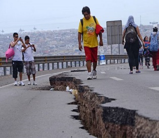 hromedia Powerful aftershock hits Northern Chile a day after massive Earthquake intl. news2