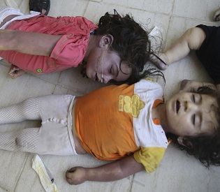 hromedia Syrian activists report new poison attack by Assad forces arab uprising2