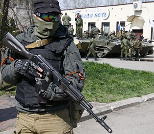hromedia Three pro-Russians 'Shot Dead' in Clashes in Eastern Ukraine eu news2