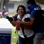 Venezuela journalist attacked by pro-government militia in Central University