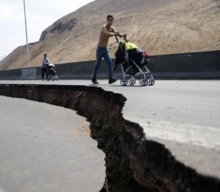 hromedia Weary Chileans flee as earthquake aftershocks continue intl. news2