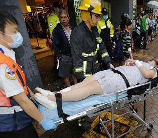 hromedia 4 people killed, 25 wounded in Taiwan subway stabbing spree intl. news2