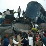 40 killed, 100 injured after high speed passenger train slams into parked freight train in Northern India