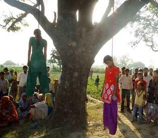 hromedia India Teen sisters allegedly gang-raped, hanged to death in Uttar Pradesh; Cops suspected intl. news2