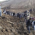 Landslide in north Afghanistan kills at least 350, thousands missing