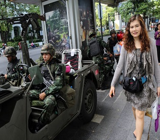 hromedia TV stations silenced, schools shut, Thailand 'volatile' after military coup intl. news2