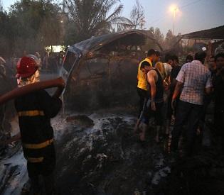 hromedia 21 killed, 34 injured in Iraq blasts as militants press offensive arab uprising2