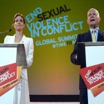 Angelina Jolie, UK's William Hague, host summit on sexual violence in wars