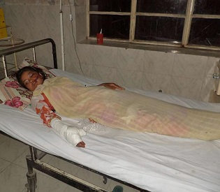 hromedia Pakistani woman survives after being shot for marrying for love intl. news2