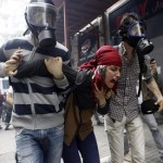 Scenes of horror, Turkish police leave protesters bloodied on Gezi anniversary