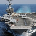 U.S. orders aircraft carrier on standby for possible action in Iraq