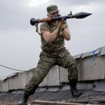 Ukraine says five pro-Russian insurgents killed in border battle