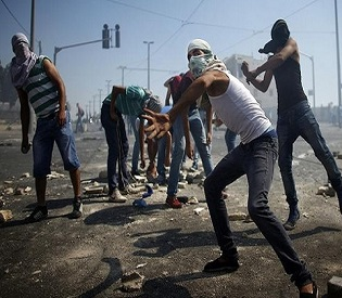hromedia As tensions boil, Israel on high alert for slain Palestinian teen funeral arab uprising3