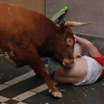 Breakaway bull gores 2 in final run of Spain's San Fermin