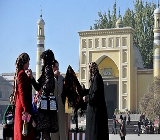 hromedia China Xinjiang Muslim students forced to eat during Ramadan fasting intl. news2