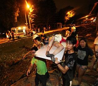 hromedia Gas explosions kill 15, injure 228 in Taiwan intl. news4