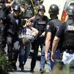 Macedonian police clash with ethnic Albanians over murder trial