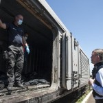 Pro-Russian rebels release train with bodies from downed Malaysian jet