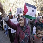 Protesters clash in Paris as thousands march against Israel offensive