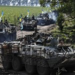 Russia threatens Kiev over cross border shell that killed a man