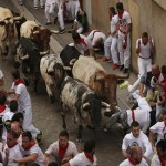 Spain's annual bull-run festival begins in Pamplona amid protests