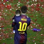 Argentinian footballer Messi defends rights of Gaza children