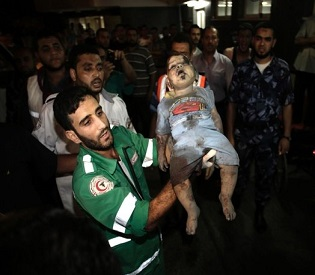 hromedia Death toll mounts as Israeli airstrikes hit Gaza arab uprising2