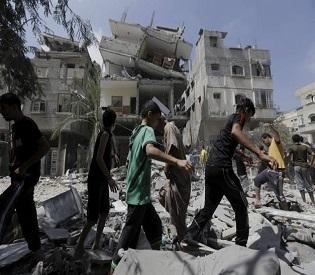 hromedia Israeli airstrikes kill 16 in Gaza, Palestinian officials say arab uprising2