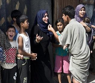 hromedia Israeli strikes kill 10 in Gaza as Egypt readies talks arab uprising2