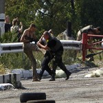 Ukraine border guards clash with rebels near Russian border