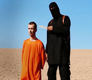 New video from ISIS showing the beheading of British hostage David Haines
