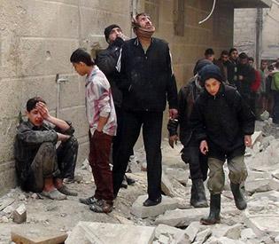 Syrian regime air raids kill 28