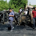 Double Car bomb attack kills 19 near market in Iraqi capital