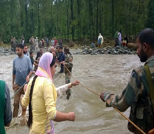 hromedia Over 100000 rescued in flood-hit J&K; relief efforts scaled up intl. news3