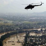 Pakistani military diverts swollen rivers to save cities from floods
