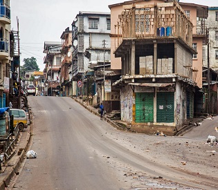 hromedia Sierra Leone capital at standstill as Ebola lockdown empties streets health and fitness2