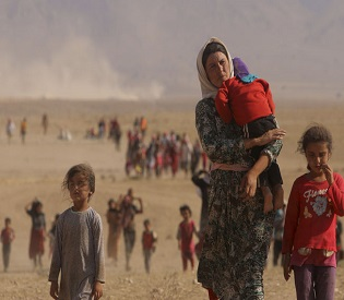 hromedia Yazidi girl tells of escape from Islamic State kidnappers arab uprising3