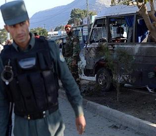 hromedia Afghanistan Taliban blast in Kabul kills four soldiers intl. news2