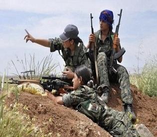 hromedia ISIS fears us more than men, say Kurdish women fighters arab uprising2