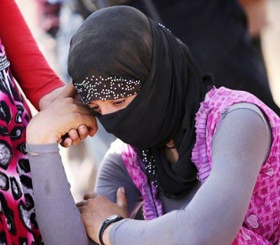hromedia ISIS justify capture and forced marriages of thousands of Yazidi women and girls arab uprising4
