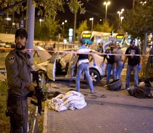 hromedia Israeli police on red alert after 'terror attack' on Jerusalem train station arab uprising2