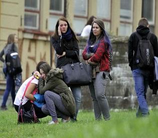 hromedia Woman stabs teen to death in rampage at Czech school eu news2