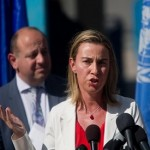 EU foreign policy chief says 'We need a Palestinian state'