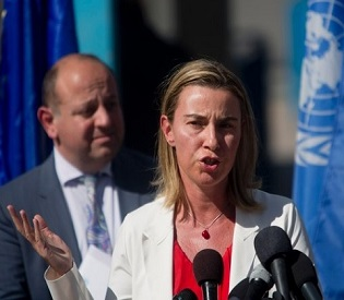 hromedia EU foreign policy chief says 'We need a Palestinian state' eu news2