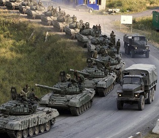 hromedia Escalating crisis Tank column crosses from Russia into Ukraine eu news2