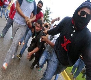 hromedia Fresh protest hits Mexico over alleged student massacre intl. news3