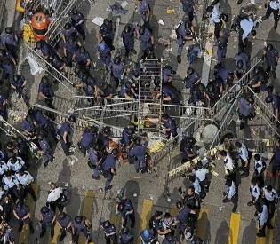hromedia Hong Kong Key protest leaders among 116 arrested in crackdown intl. news2