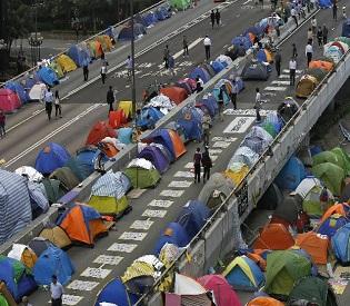 hromedia Hong Kong official warns protesters leave or face arrest intl. news2