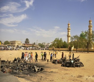 hromedia Nigeria Kano mosque blasts death toll above 120, more than 270 injured intl. news2